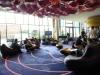 Entspannung in der Lobby des nhow Hotels