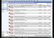 CRM Belegliste mit skalierbaren Fenstern