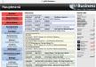 gFM-Business auf dem iPad: Hauptmenü