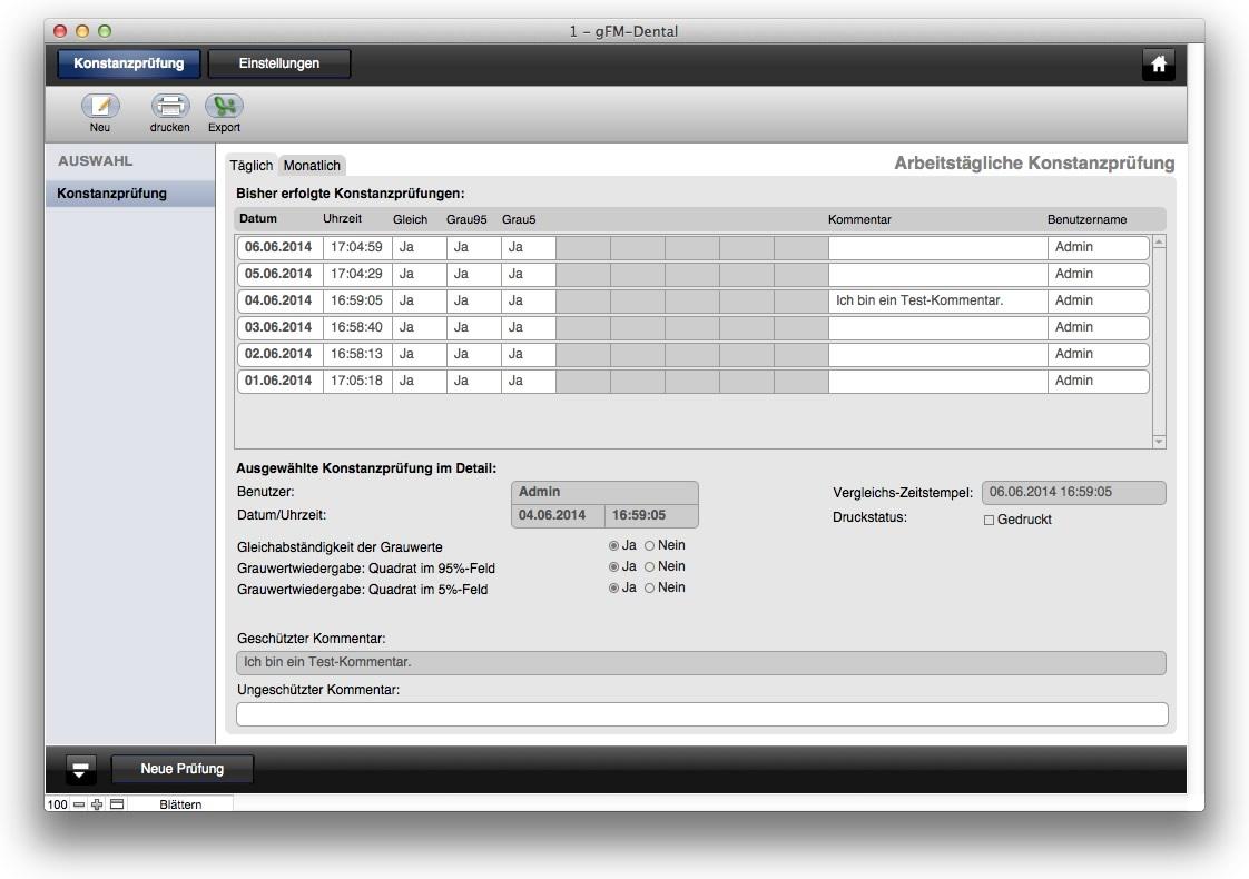 filemaker go templates - konstanzpr fung digitaler r ntgenger te unter mac os x f r