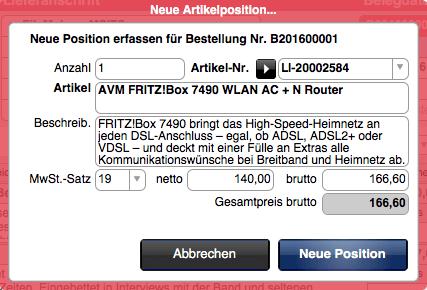 1075-faktura-einkauf-neue-position
