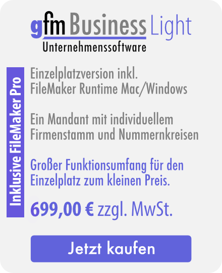 FileMaker Unternehmenssoftware
