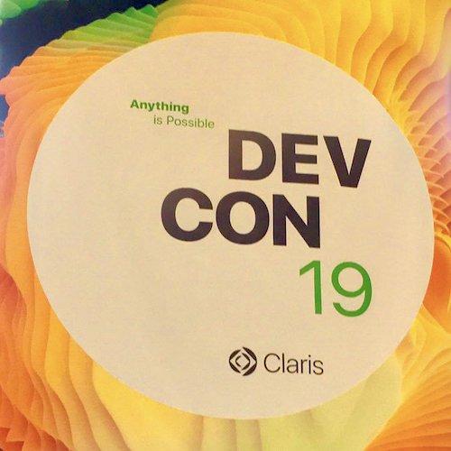 Claris DevCon 19