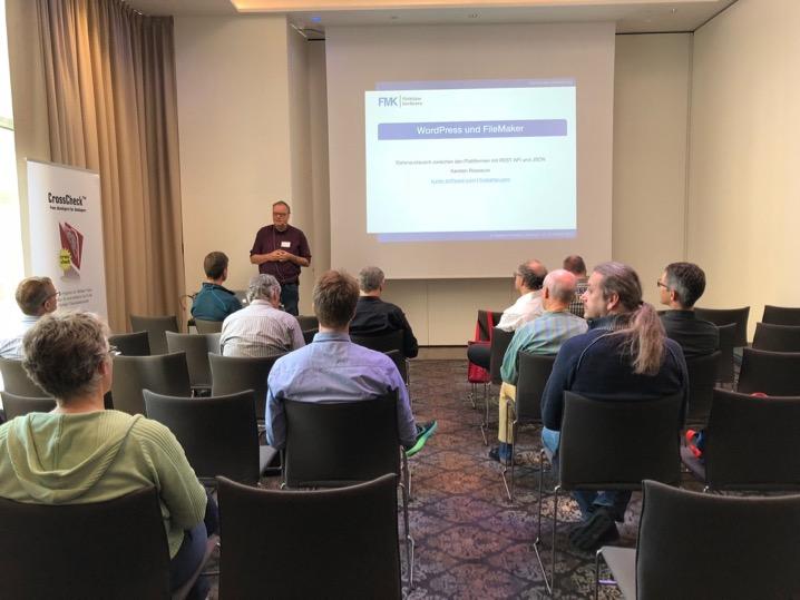 Vortrag FileMaker Konferenz
