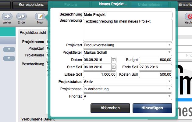 Neues-Projekt-erstellen