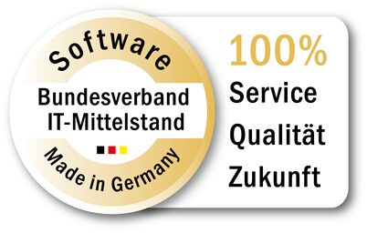 Zertifiziert: Software made in Germany