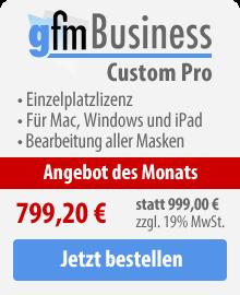 gFM-Business Custom Pro Einzelplatzlizenz kaufen