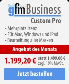 gFM-Business Custom Pro Mehrplatzlizenz kaufen