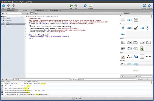Xojo Code Editor