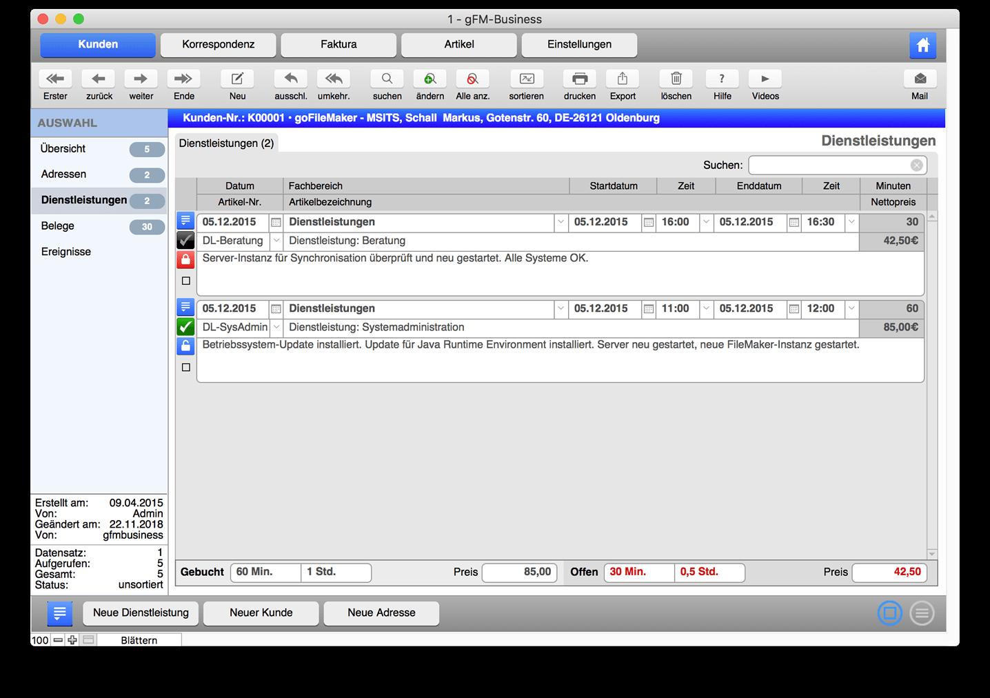 Freeware Rechnungsprogramm Und Warenwirtschaft Für Mac Pc Ios