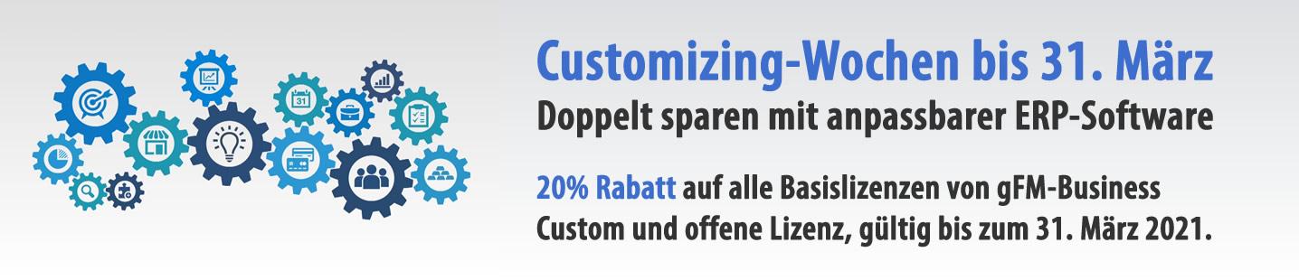 Customizing-Wochen für anpassbare ERP-Software