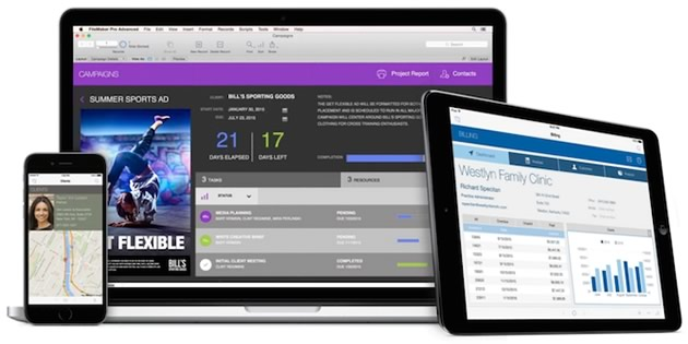 FileMaker 14 für Mac/Win, iPhone und iPad