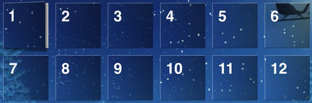 FileMaker Adventskalender zu Weihnachten 2013