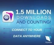 Mehr als 1,5 Mio. Downloads von FileMaker Go
