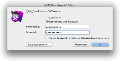 Login gFM_Drucklayouts.gfm
