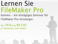 FileMaker-Seminare für Einsteiger