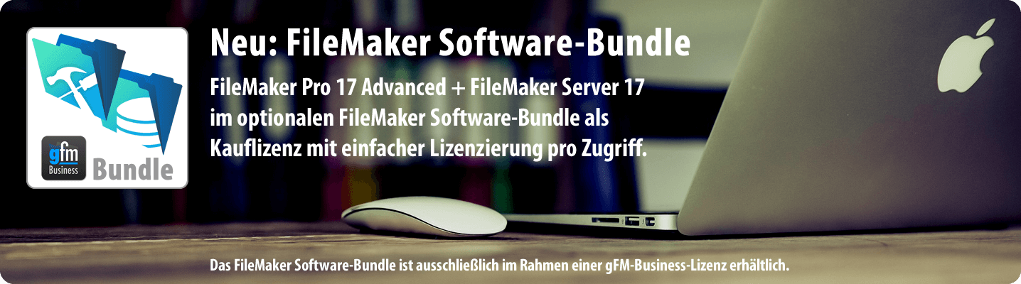 Bundle mit FileMaker Pro 17 Advanced und FileMaker Server 17