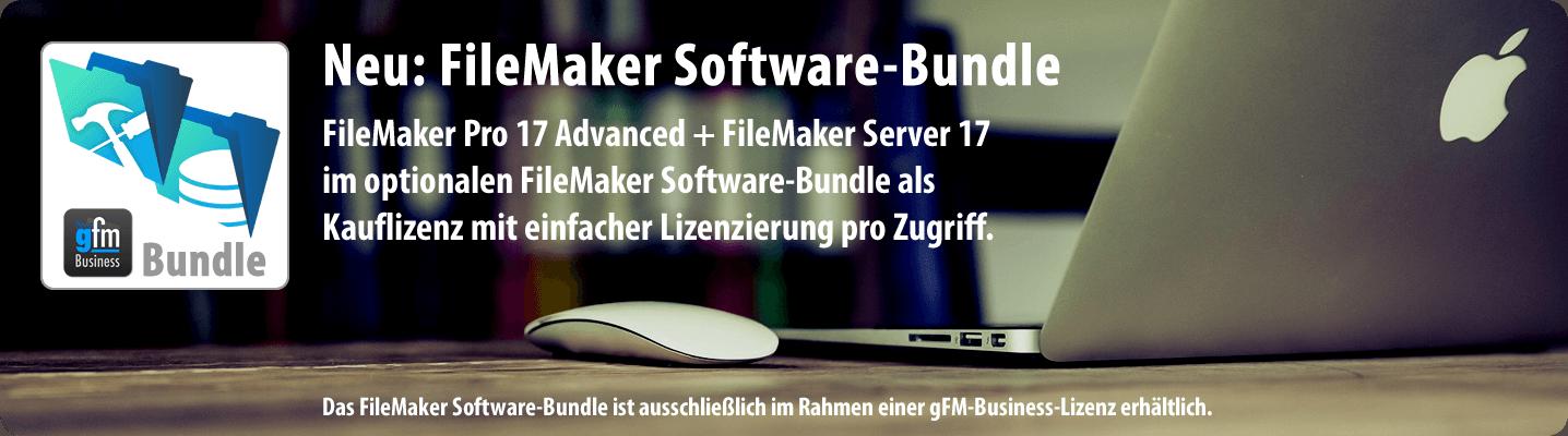 Bundle mit FileMaker Pro 17 Advanced und FileMaker Server 17