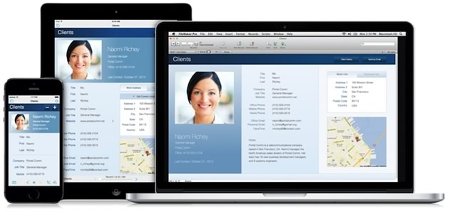 FileMaker auf Windows, Mac OS X und iOS