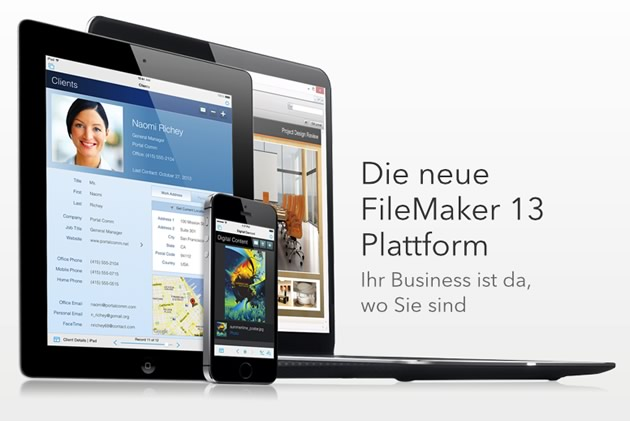 Die neue FileMaker 13 Plattform