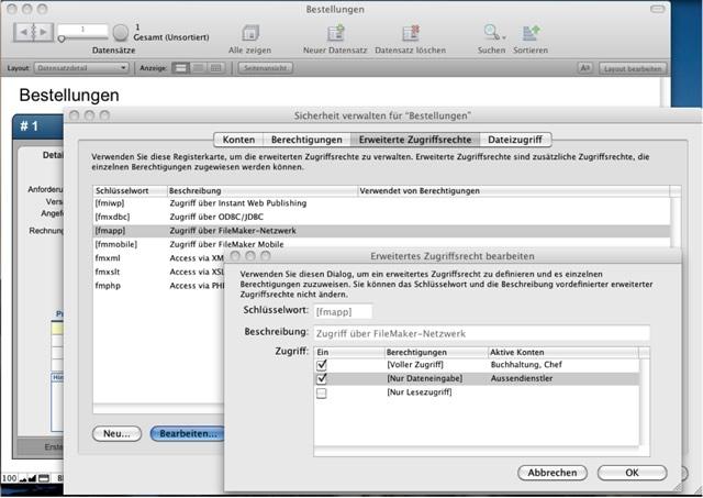 FileMaker Sicherheit: Erweiterte Zugriffsrechte verwalten