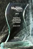 FMM-Award 2011 vom FileMaker-Magazin an goFileMaker