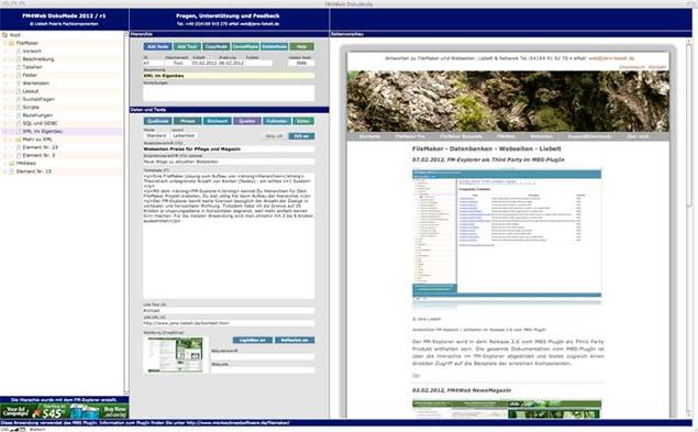 FM-Explorer: Hierarchie-Menüs in FileMaker-Datenbanken - Sreenshot 3