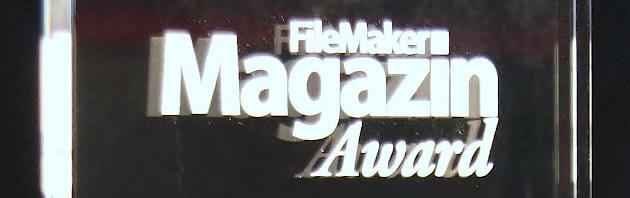 FMM Award für die beste Aktion zur Steigerung der Bekanntheit von FileMaker