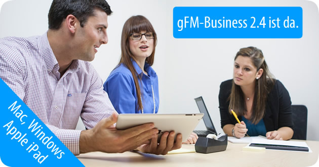gFM-Business 2.4 ist da.