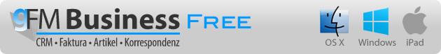 gFM-Business free für Mac, Windows und iPad