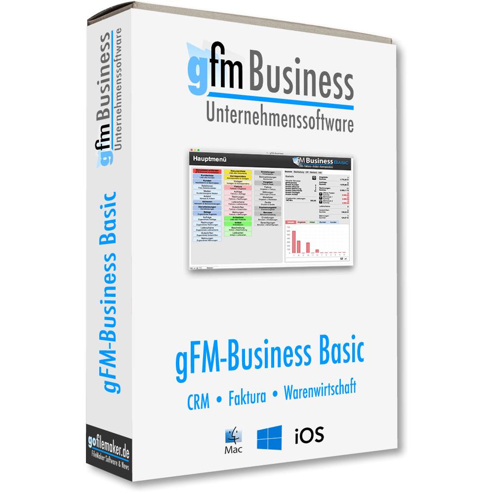 Gfm Business Custom Basic Rechnungsprogramm Für Mac Pc Ios