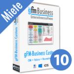 gFM-Business Custom Professional Miete + Hosting für 10 Benutzer
