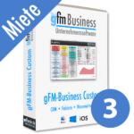 gFM-Business Custom Professional Miete + Hosting für 3 Benutzer