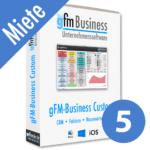 gFM-Business Custom Professional Miete + Hosting für 5 Benutzer