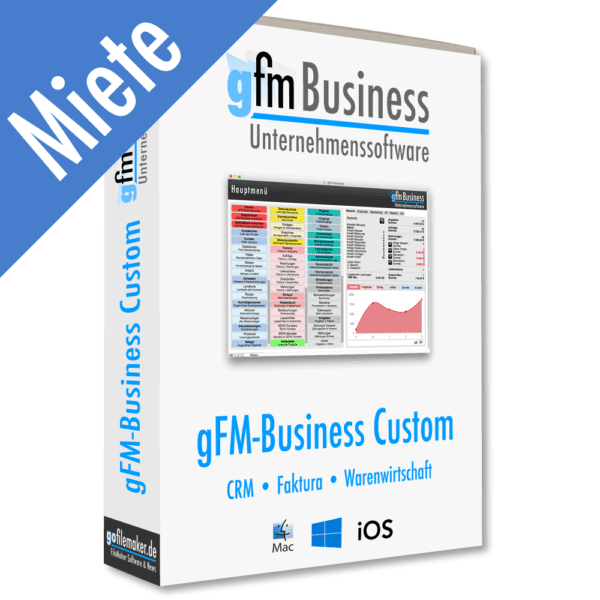 gFM-Business Custom anpassbare Warenwirtschaft