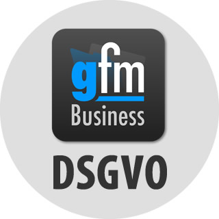 gFM-Business 3.7.5 mit Funktionen zur DSGVO