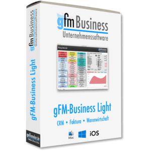 gFM-Business Light CRM, Faktura und Warenwirtschaft