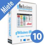 gFM-Business Offene Lizenz Miete + Hosting für 10 Benutzer
