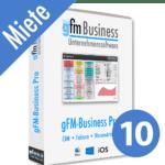 gFM-Business Professional Miete + Hosting für 10 Benutzer
