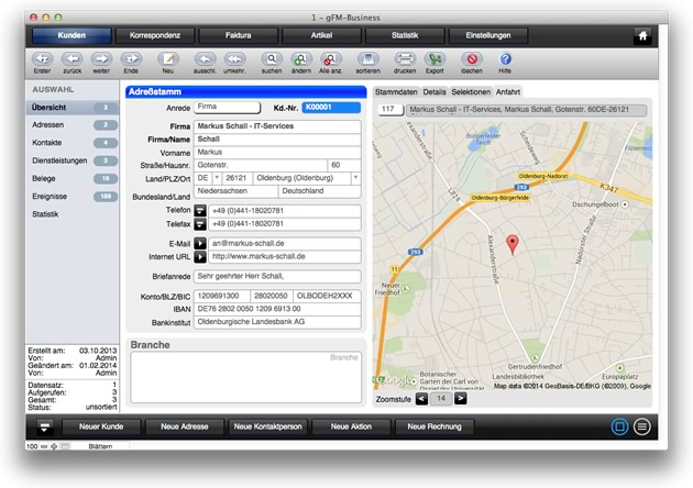 gFM-Business auf dem FileMaker Stammtisch