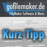 FileMaker Kurztipp: Variablen in FileMaker