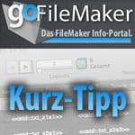 Kurztipp: Serverbasierte FileMaker-Datenbank per Mausklick starten