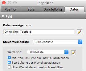 FileMaker-Inspektor: Daten srcset=
