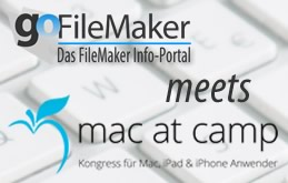 goFileMaker auf der Mac at Camp 2014