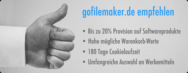 gofilemaker.de Partnerprogramm