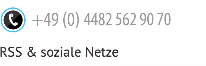 Info- und Bestellhotline