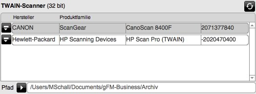 TWAIN Scanner