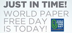 World Paper Free Day 2014